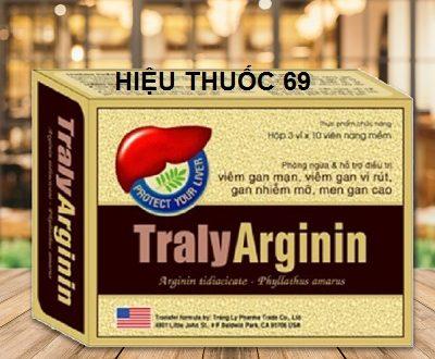 Thuốc traly arginin là thuốc gì? có tác dụng gì? giá bao nhiêu tiền?