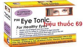 Thuốc PM eye tonic là thuốc gì? có tác dụng gì? giá bao nhiêu tiền?