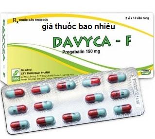 Thuốc davyca-f là thuốc gì? có tác dụng gì? giá bao nhiêu tiền?