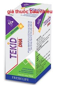 Thuốc Tekid DHA là thuốc gì? có tác dụng gì? giá bao nhiêu tiền?