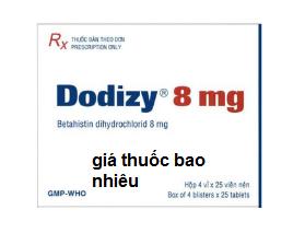 Thuốc Dodizy 8mg là thuốc gì? có tác dụng gì? giá bao nhiêu tiền?