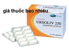 Thuốc Ursoliv 250 là thuốc gì? có tác dụng gì? giá bao nhiêu tiền?