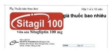 Thuốc Sitagil 100 là thuốc gì? có tác dụng gì? giá bao nhiêu tiền?