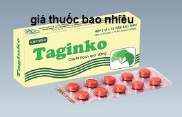 Thuốc Taginko 40 là thuốc gì? có tác dụng gì? giá bao nhiêu tiền?