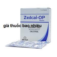 Thuốc zedcal-op là thuốc gì? có tác dụng gì? giá bao nhiêu tiền?