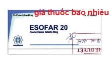 Thuốc Esofar 20 là thuốc gì? có tác dụng gì? giá bao nhiêu tiền?