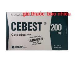 Thuốc Cebest 200mg là thuốc gì? có tác dụng gì? giá bao nhiêu tiền?