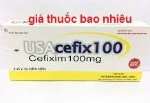 Thuốc USACefix 100 là thuốc gì? có tác dụng gì? giá bao nhiêu tiền?