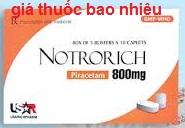 Thuốc Notrorich 800 là thuốc gì? có tác dụng gì? giá bao nhiêu tiền?