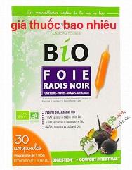Thuốc Bio Foie Radis Noir Extra Fort là thuốc gì? có tác dụng gì? giá bao nhiêu tiền?