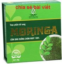 Cốm moringa 20g là thuốc gì? có tác dụng gì? giá bao nhiêu tiền?