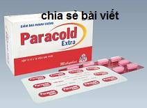 Thuốc paracold extra là thuốc gì? có tác dụng gì? giá bao nhiêu tiền?