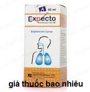 Thuốc expecto 60ml là thuốc gì? có tác dụng gì? giá bao nhiêu tiền?