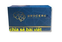 Thuốc brocere là thuốc gì? có tác dụng gì? giá bao nhiêu tiền?