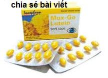 Thuốc Max-Go Lutein là thuốc gì? có tác dụng gì? giá bao nhiêu tiền?