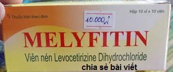 Thuốc melyfitin 5 là thuốc gì? có tác dụng gì? giá bao nhiêu tiền?