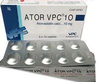 Thuốc ator vpc 10 là thuốc gì? có tác dụng gì? giá bao nhiêu tiền?