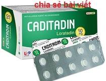 Thuốc Caditadin 30ml là thuốc gì? có tác dụng gì? giá bao nhiêu?