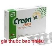 Thuốc creon 250000 là thuốc gì? có tác dụng gì? giá bao nhiêu tiền?
