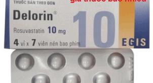 Thuốc Delorin 10 là thuốc gì? có tác dụng gì? giá bao nhiêu?