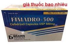 Thuốc Fimadro-500 là thuốc gì? có tác dụng gì? giá bao nhiêu?