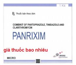 Thuốc Panrixim là thuốc gì? có tác dụng gì? giá bao nhiêu?