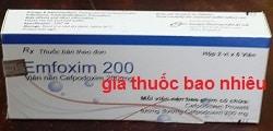 Thuốc Emfoxim 200 là thuốc gì? có tác dụng gì? giá bao nhiêu?