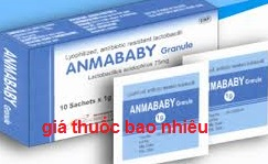 Thuốc Anmababy Granule là thuốc gì? có tác dụng gì? giá bao nhiêu?