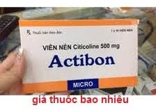 Thuốc Actibon 500mg là thuốc gì? có tác dụng gì? giá bao nhiêu?