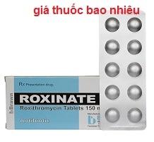 Thuốc Roxinate 150 là thuốc gì? có tác dụng gì? giá bao nhiêu?