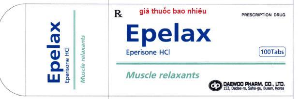 Thuốc Epelax Tablet là thuốc gì? có tác dụng gì? giá bao nhiêu?