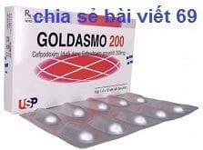 Thuốc Goldasmo 200 là thuốc gì? có tác dụng gì? giá bao nhiêu?