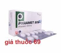 Thuốc Pyramet 800 là thuốc gì? có tác dụng gì? giá bao nhiêu?