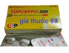 Thuốc Topcefpo 200 là thuốc gì? có tác dụng gì? giá bao nhiêu?