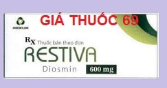Thuốc Restiva 600 là thuốc gì? có tác dụng gì? giá bao nhiêu?