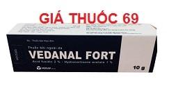 Thuốc Vedanal fort 10g là thuốc gì? có tác dụng gì? giá bao nhiêu?