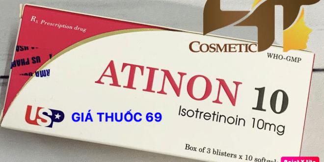 Thuốc Atinon 10 là thuốc gì? có tác dụng gì? giá bao nhiêu?