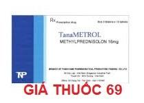 Thuốc Tanametrol 16mg là thuốc gì? có tác dụng gì? giá bao nhiêu?