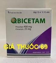 Thuốc Qbicetam là thuốc gì? có tác dụng gì? giá bao nhiêu?