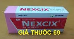 Thuốc Nexcix là thuốc gì? có tác dụng gì? giá bao nhiêu?