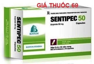 Thuốc Sentipec 50 là thuốc gì? có tác dụng gì? giá bao nhiêu?