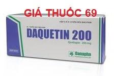Thuốc Daquetin 200 là thuốc gì? có tác dụng gì? giá bao nhiêu?