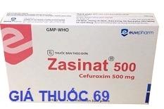 Thuốc Zasinat 500 là thuốc gì? có tác dụng gì? giá bao nhiêu?