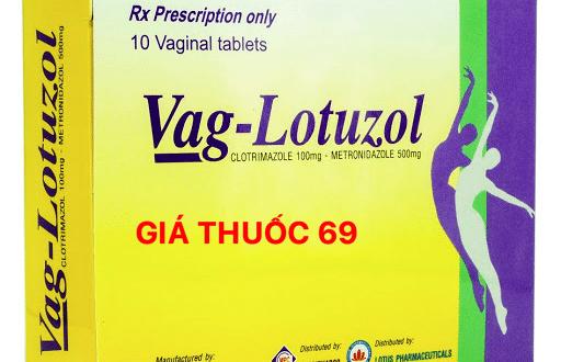 Thuốc Vag-Lotuzol là thuốc gì? có tác dụng gì? giá bao nhiêu?