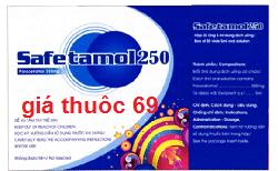 Thuốc Safetamol 250 là thuốc gì? có tác dụng gì? giá bao nhiêu?