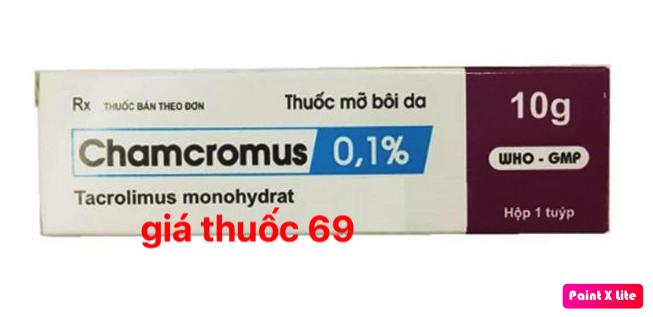Thuốc Chamcromus 0,1% là thuốc gì? có tác dụng gì? giá bao nhiêu?