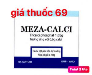 Thuốc Meza-Calci là thuốc gì? có tác dụng gì? giá bao nhiêu?