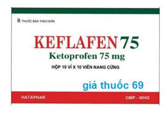 Thuốc Keflafen 75 là thuốc gì? có tác dụng gì? giá bao nhiêu?