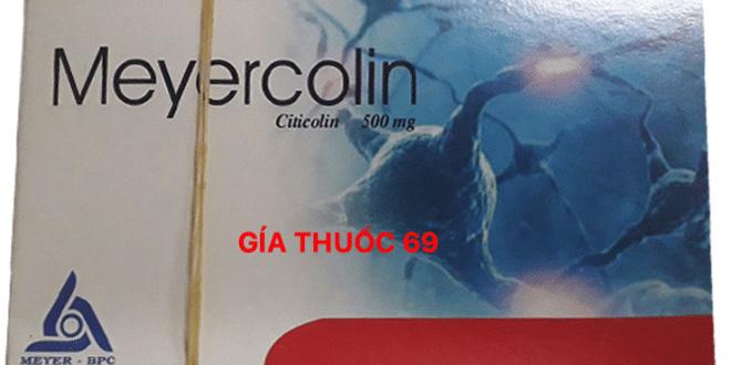 Thuốc Meyercolin là thuốc gì? có tác dụng gì? giá bao nhiêu?