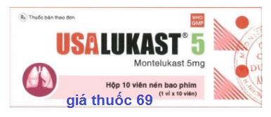 Thuốc Usalukast 5 là thuốc gì? có tác dụng gì? giá bao nhiêu?